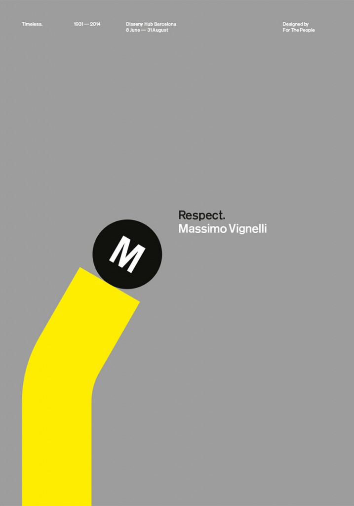 FOR THE PEOPLE_Vignelli